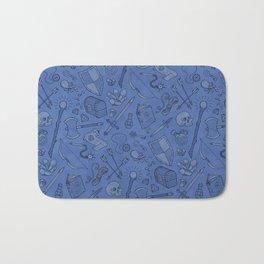Inventory in Blue Bath Mat