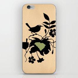 South Carolina - State Papercut Print iPhone Skin