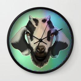 Cute goat Wall Clock