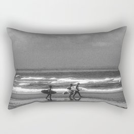 Surfer in the South of France Rectangular Pillow