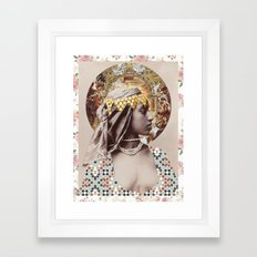Proud Woman Framed Art Print