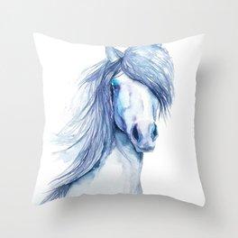 Horse#11 Throw Pillow
