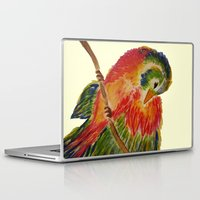 birdy Laptop & iPad Skins featuring Birdy by LaurenMarie94