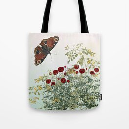 'Serenity only a deliberate hebitude' Tote Bag