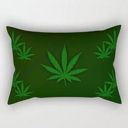 Weed Rectangular Pillow