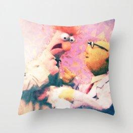 Muppets - Beaker & Bunsen Throw Pillow