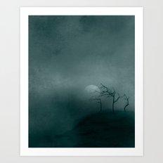 Three ~ Black and White Art Print