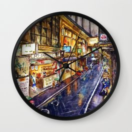 Melbourne Streetscape Wall Clock