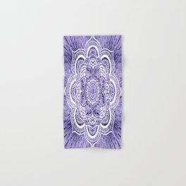 Mandala Lavender Colorburst Hand & Bath Towel