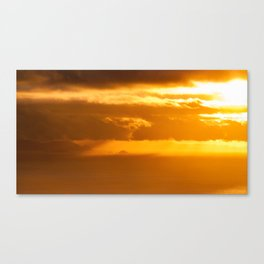 South Island Sunset Canvas Print