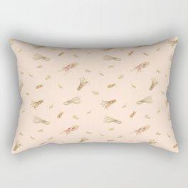 Cephalopods on Blush 1 Rectangular Pillow