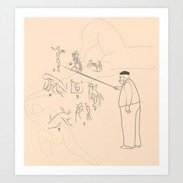 Le portrait de Matisse Art Print