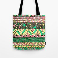 nyc Tote Bags featuring NYC by Mariana Beldi