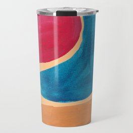 7| 190330 Abstract Shapes Painting Travel Mug
