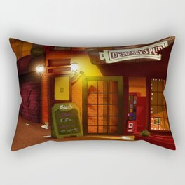Dempsey's Pub Rectangular Pillow
