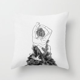 I want to know you little more deep. Throw Pillow