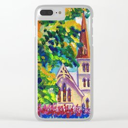 Anglican Catholic Church on Sunny Sunday Clear iPhone Case
