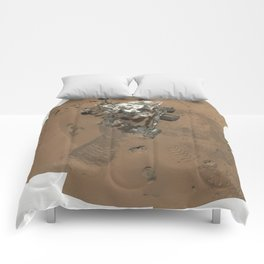 NASA Mars Curiosity's 'Rocknest' Workplace High definition Print Comforters