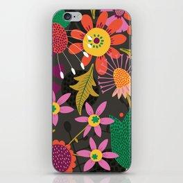 Jungle Flowers iPhone Skin