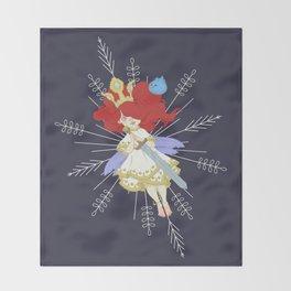 Speltöser - Aurora - Child of Light Throw Blanket