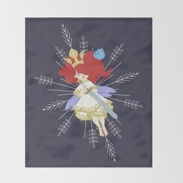 Speltöser - Aurora - Child of Light Throw Blanket