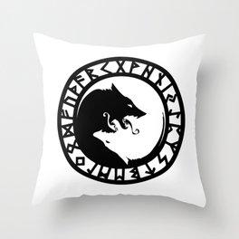 Fenrir Throw Pillow