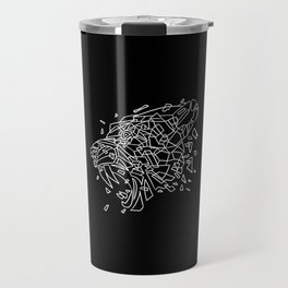 Geometric Sabertooth Travel Mug