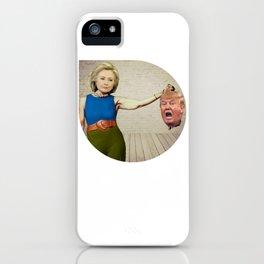 Hillary Clinton- Donald Trump iPhone Case