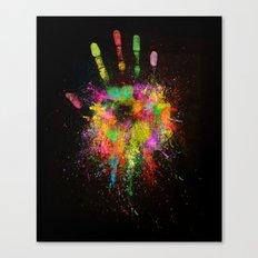 Artist Hand (1) Canvas Print