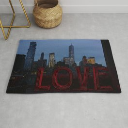 All you need is love, NYC Rug