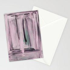 Rose et Vert Stationery Cards