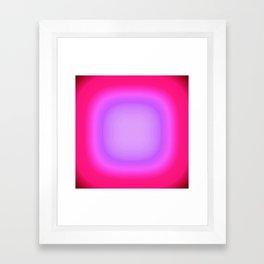 Pink Focus Framed Art Print