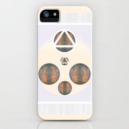 Monkey Head: Circle & Triangle iPhone Case