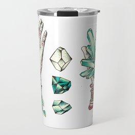 Crystal Hands Travel Mug