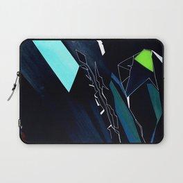 Glass Geometry Dark Blue Laptop Sleeve