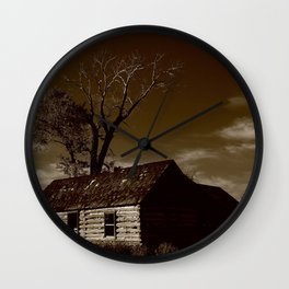 Alone Against the Tide.. Wall Clock