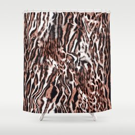 Luxury Animal Print Shower Curtain