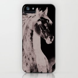 Lusitano horse iPhone Case