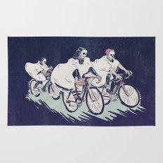 Ghost Race Rug