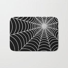 Spiderweb | Silver Glitter Bath Mat