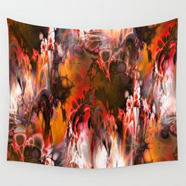 Marshmellow Skies (warm earth tones) Wall Tapestry