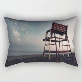 Lifeguard of the Night Rectangular Pillow