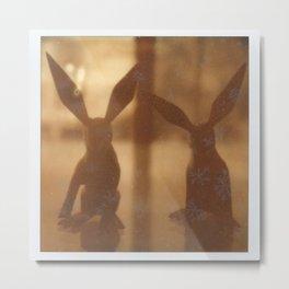 Rabbit Rabbit Metal Print
