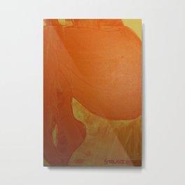 Dariusz Stolarzyn Orange, Oil Painting Metal Print