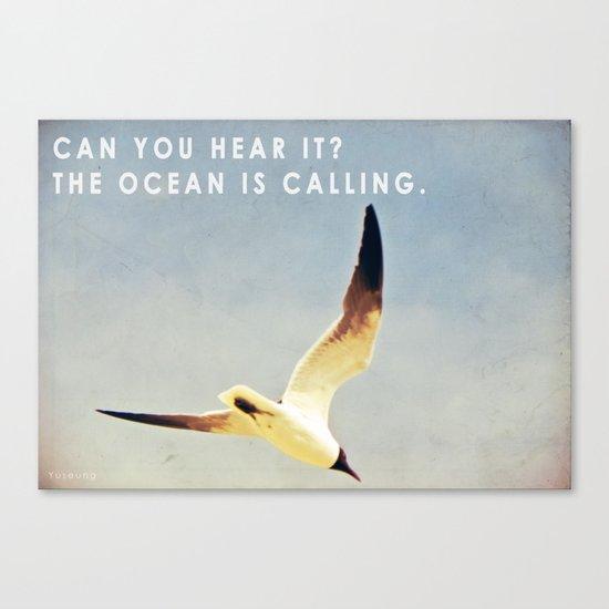 Calling Canvas Print