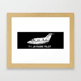 T-1 Jayhawk Framed Art Print