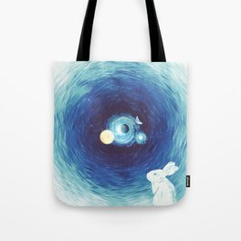 Down The Rabbit Hole Tote Bag