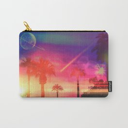 Neon Beach Carry-All Pouch