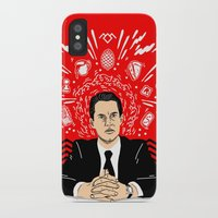 Twin Peaks: Dale Cooper's Thoughts iPhone X Slim Case
