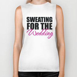 Sweating for the Wedding Biker Tank